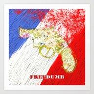 Freedumb Art Print