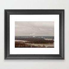A View Framed Art Print