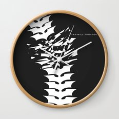 Fear will Find you! Wall Clock