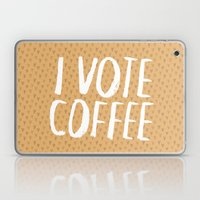I Vote Coffee Laptop & iPad Skin