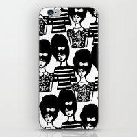 Bouffant Girls iPhone & iPod Skin