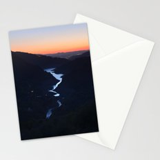 Silver lake. At the mountains... Stationery Cards