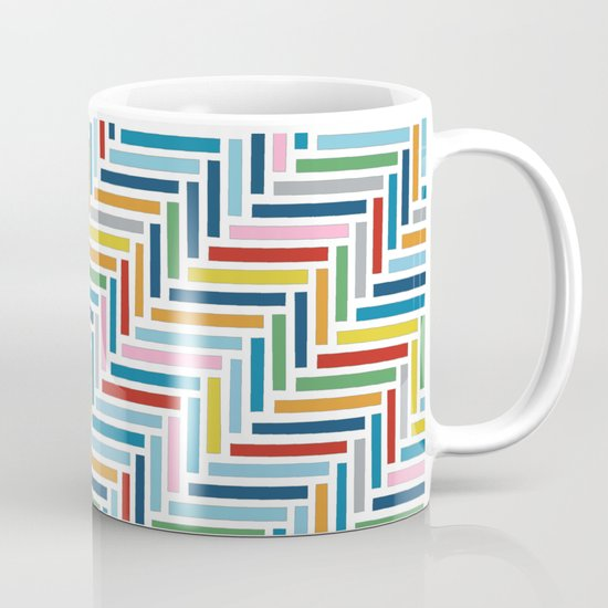 Herringbone 45 Colour Mug