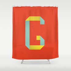 G 001 Shower Curtain