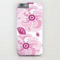 iPhone & iPod Case featuring Twirly Rose by Melanie Schumacher