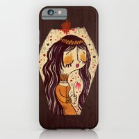 iPhone Cases featuring Snow White by Pigologist