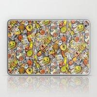 Pencil People Laptop & iPad Skin
