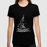 Melo The Explorer, Oct '… Womens Fitted Tee Black SMALL