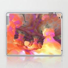 The Soft Colonnade (3D Fractal Digital Art) Laptop & iPad Skin