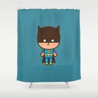 #51 The Bat Man Shower Curtain