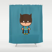 #51 The Bat man Shower Curtain