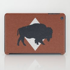 Bison & Blue iPad Case