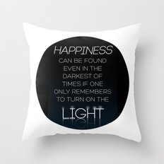 Harry Potter Albus Dumbledore Quote Throw Pillow