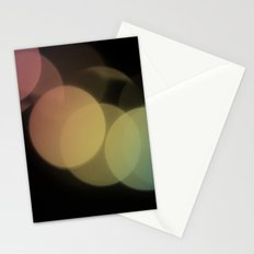 Rainbow Bokeh Stationery Cards