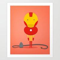 My Ironing Hero! Art Print