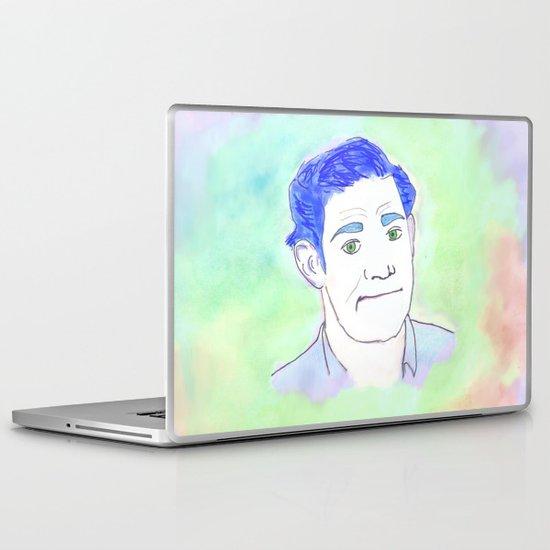 Jim Halpert Face.  Laptop & iPad Skin