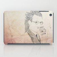 Evil uncle Leon iPad Case