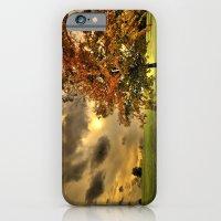 iPhone & iPod Case featuring Red Maple Tree  by LudaNayvelt
