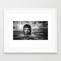 Trevor Framed Art Print