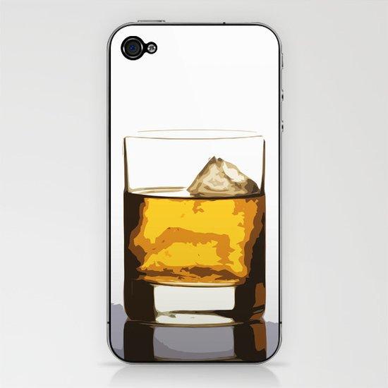 Old Scotch Whiskey iPhone & iPod Skin