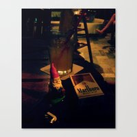 Gnorman & His smokes Canvas Print