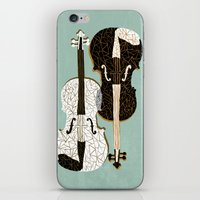 Two Violins iPhone & iPod Skin
