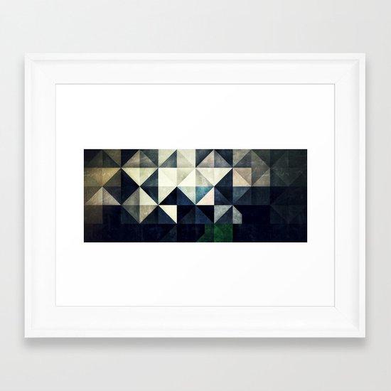 GLYZBRYKS Framed Art Print