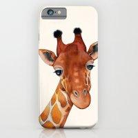 Giraffe Watercolor iPhone 6 Slim Case