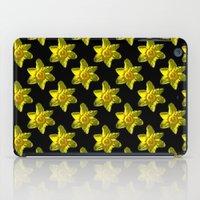 Daffodil On Black iPad Case
