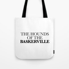 THE HOUNDS OF THE BASKERVILLE Tote Bag