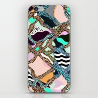 ELECTRIC VIBES iPhone & iPod Skin
