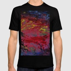 What´s it all about SMALL Black Mens Fitted Tee