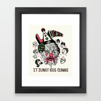 Laughter.. Framed Art Print