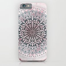 ICELAND MANDALA IN PINK iPhone 6s Slim Case