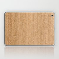 Red Oak Wood Laptop & iPad Skin