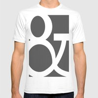 And Mens Fitted Tee White SMALL