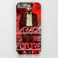 iPhone & iPod Case featuring Barack To The Future by Artless Arts