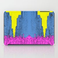 Living For The City iPad Case