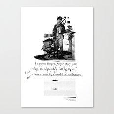 Tragics 03 - The Boy is a VCR Canvas Print