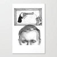 ti guardo e mi vedo in te... #2 Canvas Print