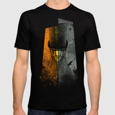 Preacher Man Mens Fitted Tee SMALL Black