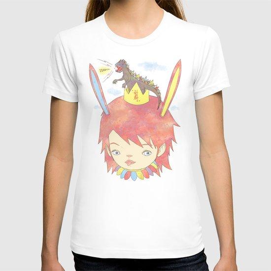 CROWN NEST - GOZILLA KING 고질라킹 T-shirt