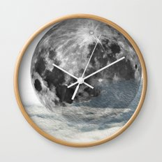 Low Moon Wall Clock