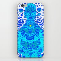 igen igen blue iPhone & iPod Skin