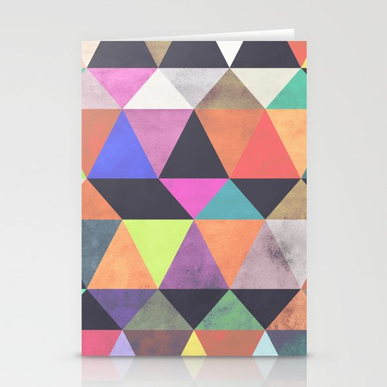 colour + pattern 12 Stationery Card