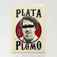 Plata O Plomo? Stationery Cards