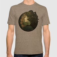 Medusa Nouveau Mens Fitted Tee Tri-Coffee SMALL
