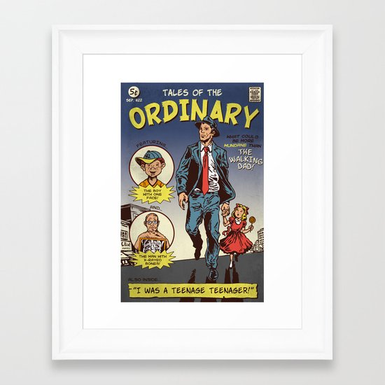 Tales Of The Ordinary Framed Art Print