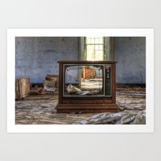 Nothing on Tv... Art Print