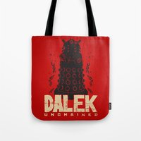 Dalek Unchained Tote Bag